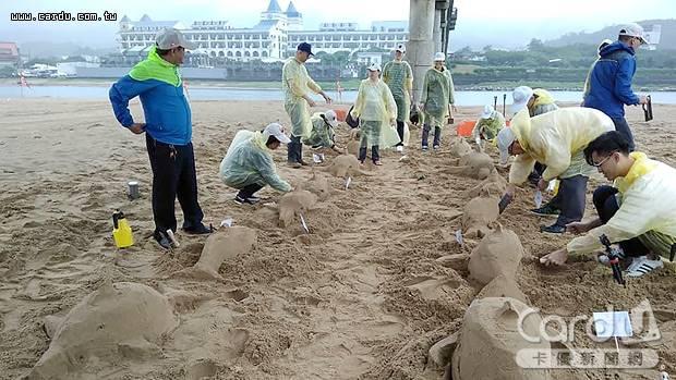 福隆沙雕季將招集300位民眾共同打造300隻瓶鼻海豚,挑戰最多人做沙雕金氏紀錄(圖/福容大飯店 提供)
