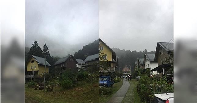 妻想去合掌村 男開進阿里山秘境網驚:真的在台灣?