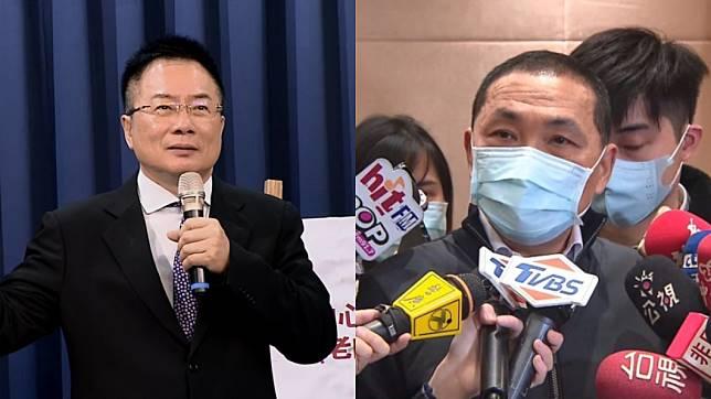 蔡正元稱讚侯友宜對疫情有警覺心。(圖/TVBS)
